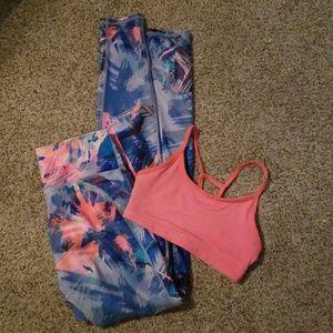 Fabletics outfit Bundle highwaisted leggings/bra